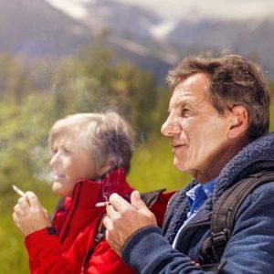Heeft het nog zin als je lang hebt gerookt twee oudere mensen