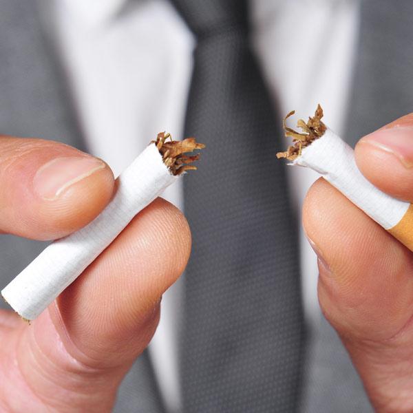 zakelijk stoppen met roken