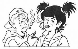 Roken wordt onderdeel van je identiteit