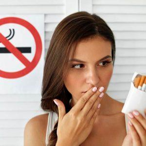 U kunt oefenen ter voorbereiding om te stoppen met roken