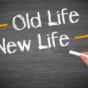 Oude leven zonder roken